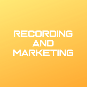 Recording and Marketing Services